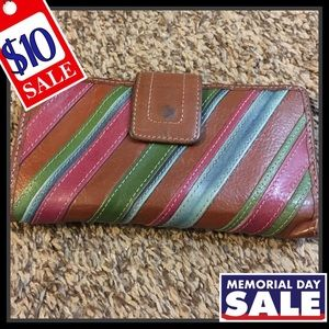 Fossil Striped Wallet